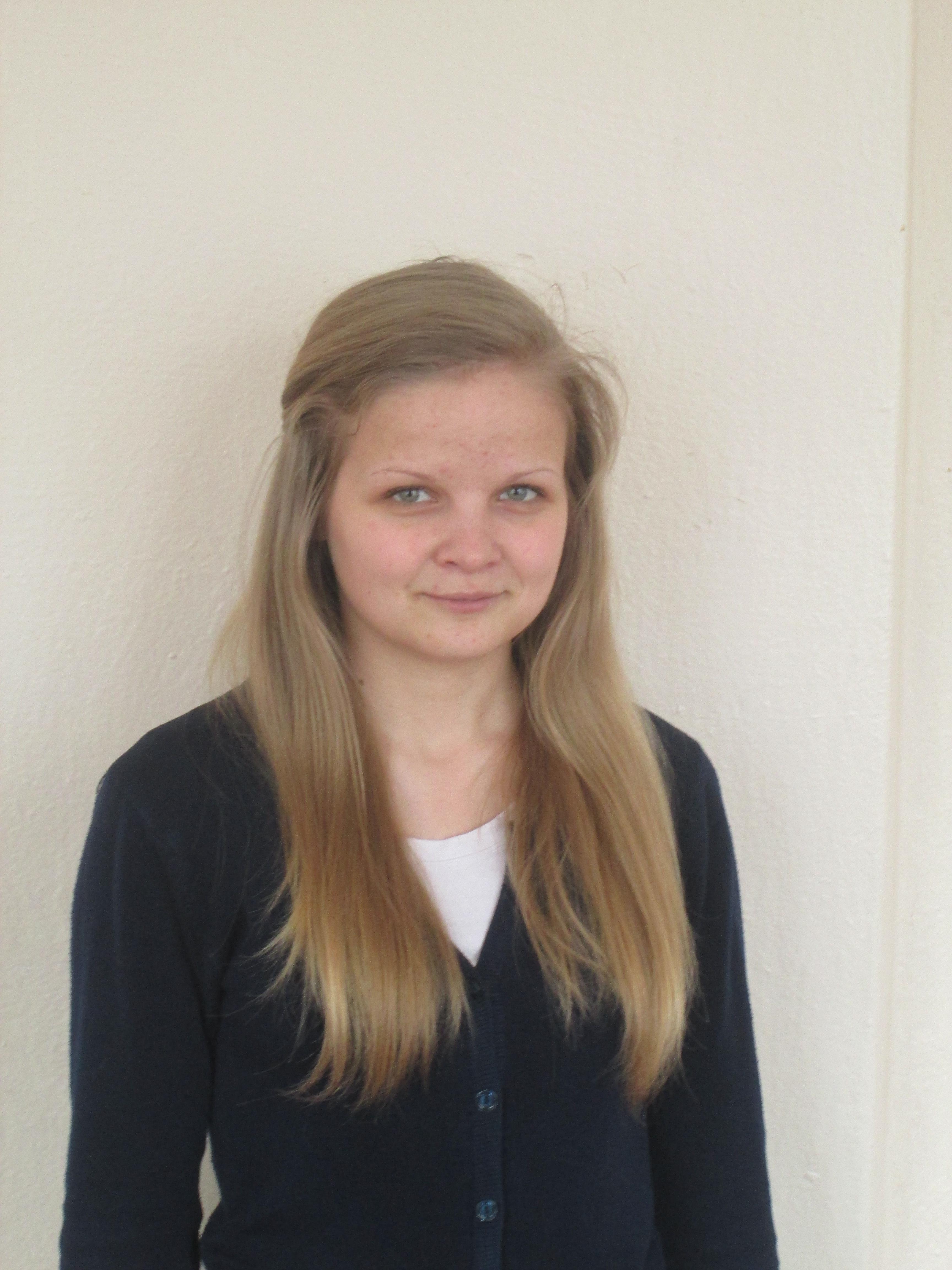 №3. Светлана Ворошилова, 17 лет. Мошенской район.