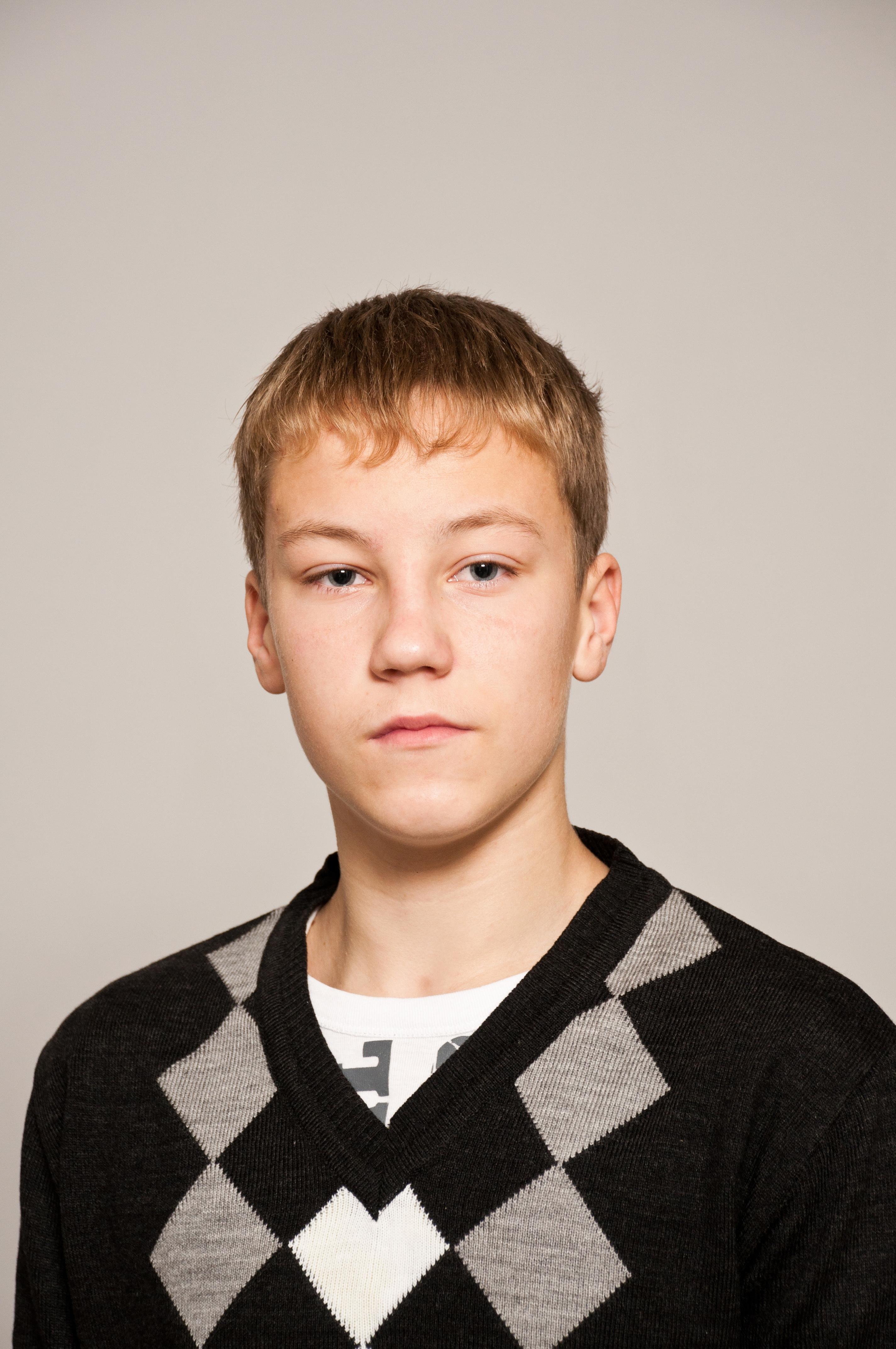 №1. Андрей Ваняхин, 16 лет. Крестецкий район.