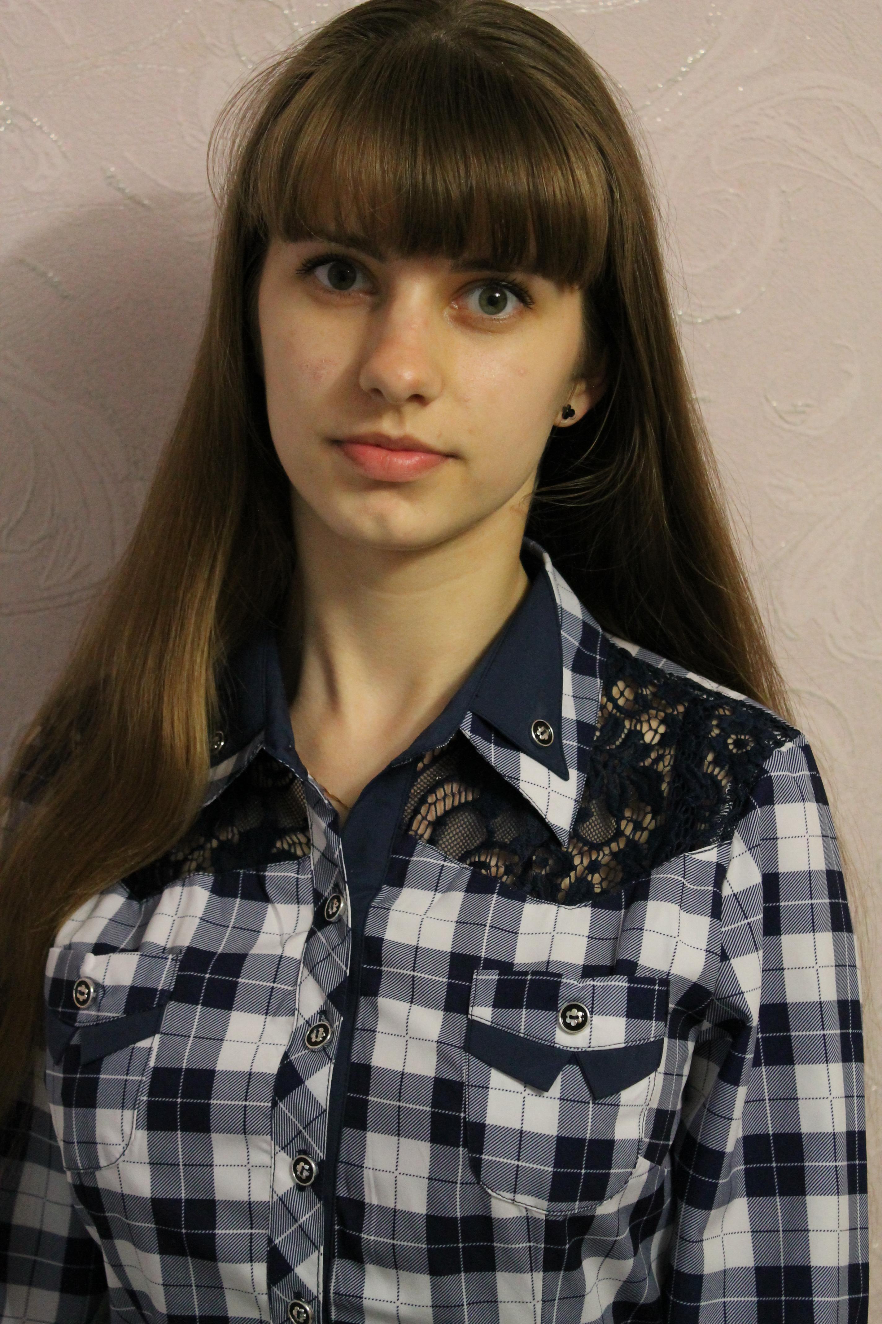№9. Юлия Петрова, 17 лет. Хвойнинский район.