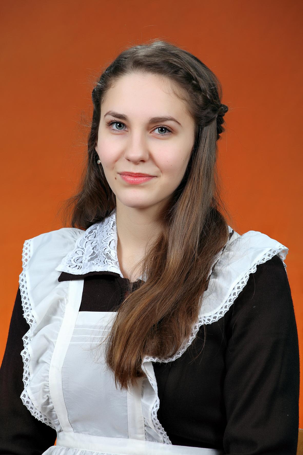 №12. Анна Степанова, 18 лет. Новгородский район.